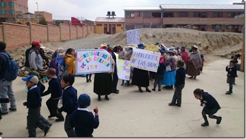 El Alto: 200 colegios tienen obras paralizadas