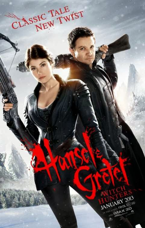 Poster Of English Movie Hansel and Gretel Witch Hunters (2013) Free Download Full New Hollywood Movie Watch Online At Alldownloads4u.Com