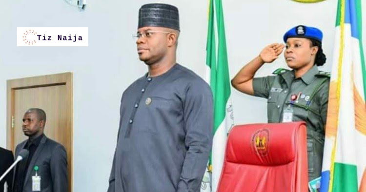 The Beauty of Governor Yahaya Bello's ADC has got people talking online lately (see pictures)