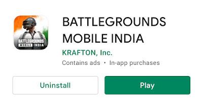 PUBG Battleground Mobile India apk Download