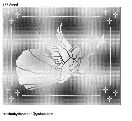Free Filet Crochet Wall Hanging Patternse Lords Prayer Thread