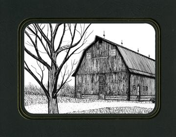 Drawing With TerpCreek Rustic Barn Lover
