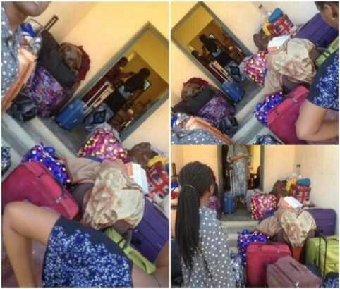 Bowen University Students Sent Out Of Their Hostel For Fighting (Photos)