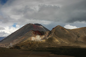 View of Red Crater and Mt. Ngauruhoe