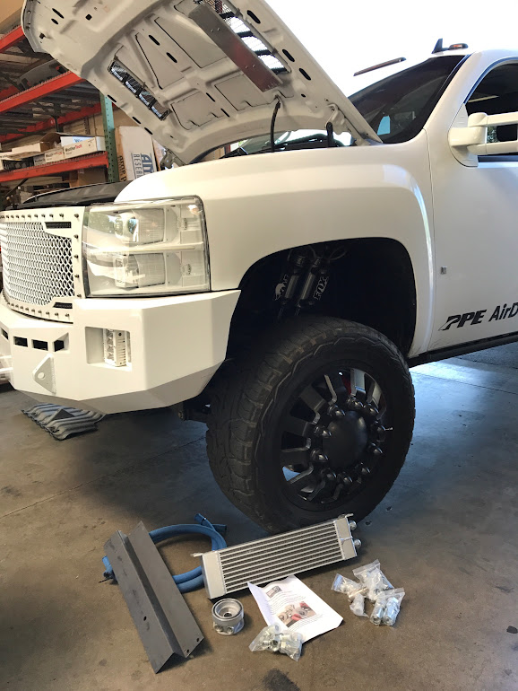 Keep that engine oil cool! - Chevy and GMC Duramax Diesel Forum