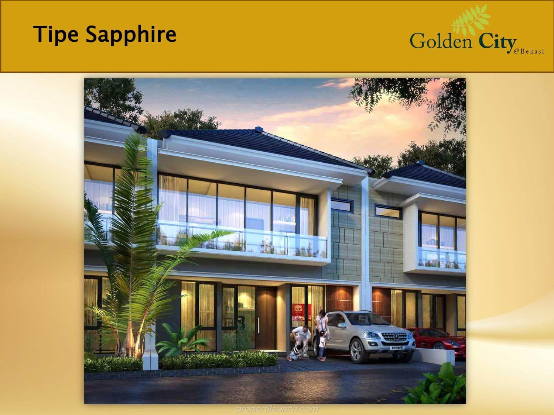Rumah Sapphire Cluster Diamond Golden City Bekasi