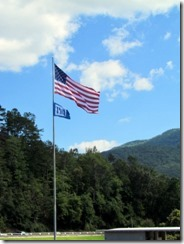 At Fontana Dam Visitor Center