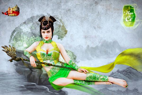 Ải Mỹ Nhân khoe cosplay nóng bỏng đón Closed Beta - Ảnh 7