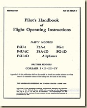 Vought F4U-1CD  FG-1D & British Corsair I-IV Pilot's Handbook_01