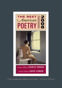 The Best American Poetry 2008 By David Lehman