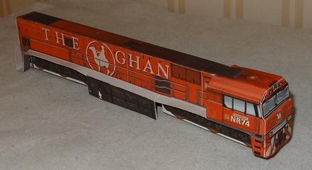 1996 The Ghan – GSR