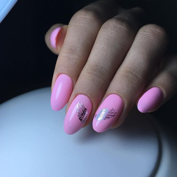 Top 50 Trendy Nails 2018 Fashionable Colors & Nail Art Ideas