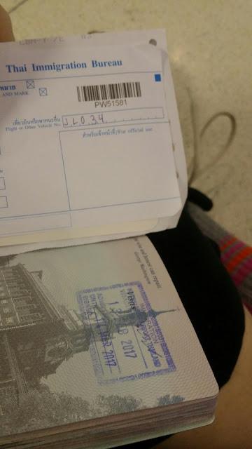 Bangkok - visa