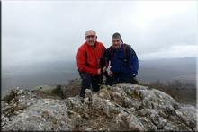 Peña del Santo mendiaren gailurra 1.037 m. -- 2016ko martxoaren 19an