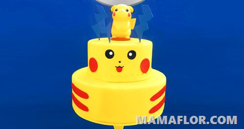 Pastel o Tarta de Pokemon Go