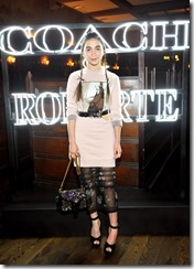 HOLLYWOOD, CA - MARCH 30:  Actor Rowan Blanchard attends the Coach & Rodarte celebration for their Spring 2017 Collaboration at Musso & Frank on March 30, 2017 in Hollywood, California  (Photo by Donato Sardella/Getty Images for Coach)