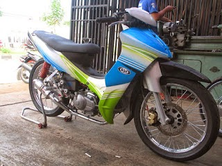 Modifikasi Motor Vega Zr Road Race