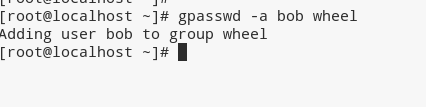 add user to group linux using gpasswd command