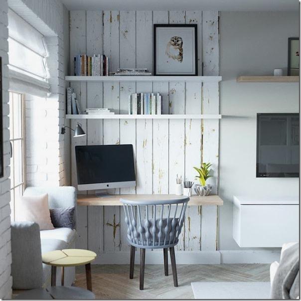 Piccoli spazi cucina divisa da vetrata case e interni for Piccoli spazi
