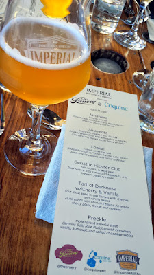 Imperial Bottle Shop and Taproom presents The Bruery and Coquine Beer Pairing Dinner