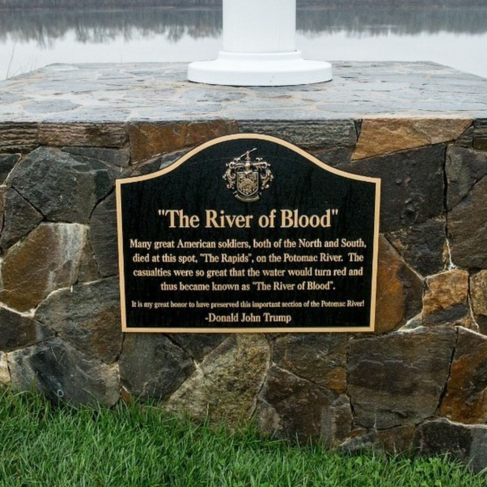 River of Blood: The Memorial to a Civil War Battle That Never Took Place