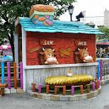 Sam & Jack at Lotte World in Seoul in Seoul, Seoul Special City, South Korea