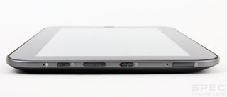 Lenovo IdeaPad K1 side view