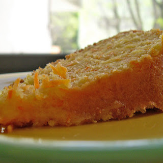 Carrot and Coconut Cake.