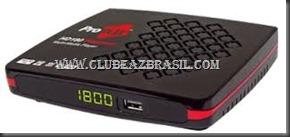 ATUALIZAÇÃO PROBOX HD 180 PLATINUM V1.26
