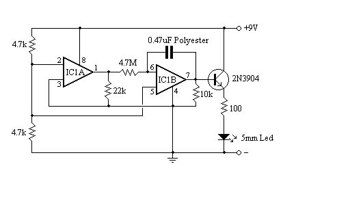 Electronic Circuits.: Fading LED by LM358