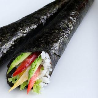 Vegetarian Temaki.