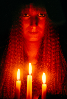 Candle Witch, Candle Magic