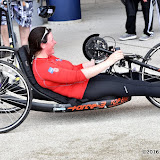 OIC - ENTSIMAGES.COM - Dr Jen Warren Hand Cyclist  at the Prudential RideLondon Grand Prix 2016    in London  29th July 2016 Photo Mobis Photos/OIC 0203 174 1069