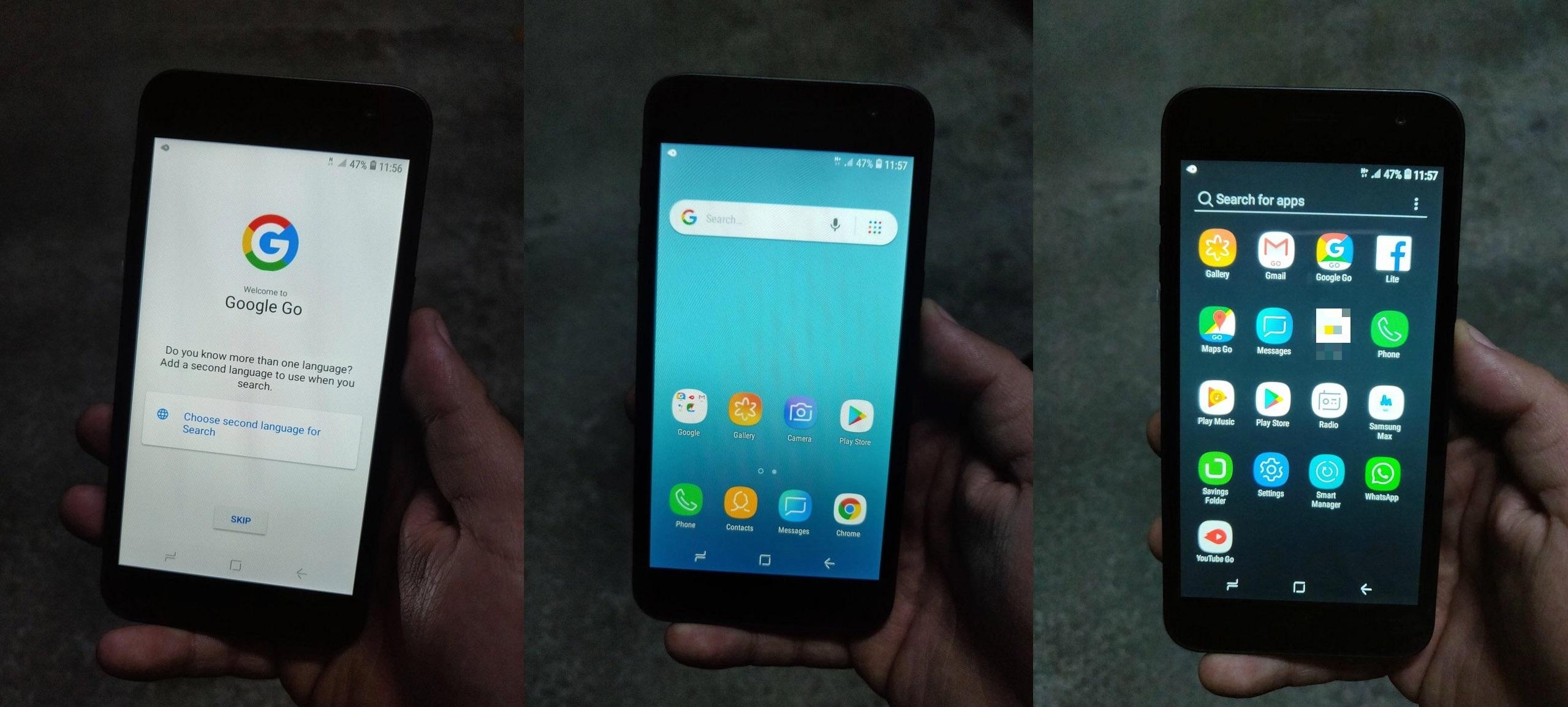 جوال Samsung Galaxy J2 Core يظهر في أول صور واقعية