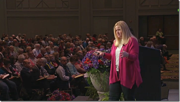 Anne Gillespie Mitchell of Ancestry.com addresses RootsTech session