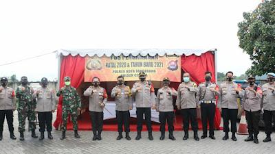 Wakapolda Banten Cek Kesiapan Pospam Citra Raya dan Km. 34 Balaraja Tangerang