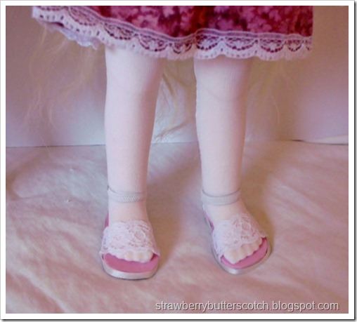 Tights and socks for dolls.