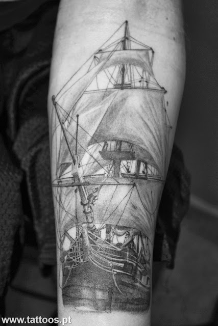 Molto Tattoos e Tatuagens de barcos RE87