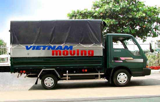 Dịch vụ thuê xe tải Vinamoving