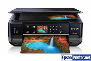 How to reset Epson XP-600 by application
