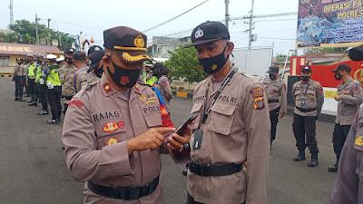 Tindak Lanjut Atensi Kapolda Aceh dan Ulama Terkait Judi Chip Domino, Seluruh Hp Personel Polres Lhokseumawe Diperiksa