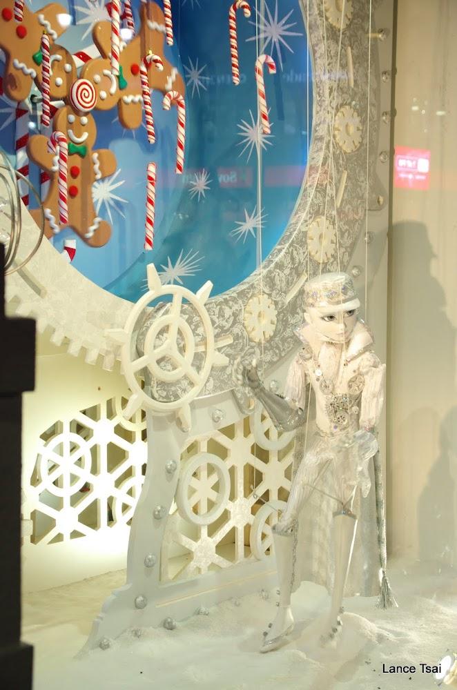 紐約梅西百貨公司聖誕節櫥窗裝飾 Macy's window display for Chirstmas