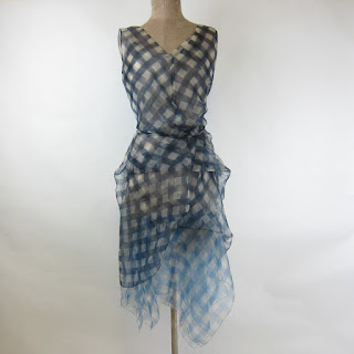 Marc Jacobs Collection NEW Silk Gingham Dress