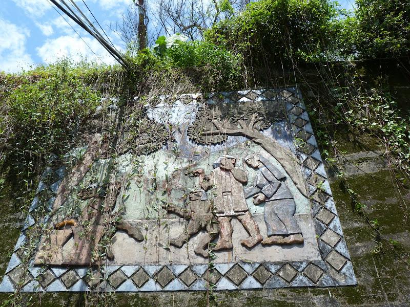 Puli  en passant , entre autres, par les villages de l ethnie Bunum de Loloko et Dili. J 10 - P1160879.JPG