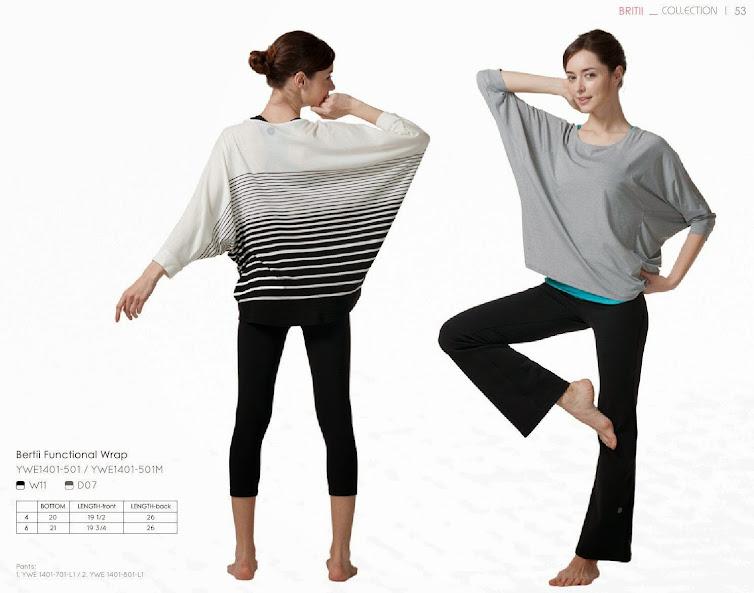 easyoga 方形領寬鬆套衫(ywe-1401-501) 方形領寬鬆套衫(ywe-1401-501M)