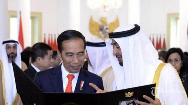 Dapat Rp 280 Triliun dari Uni Emirat Arab, Jokowi Terbang ke Abu Dhabi Pekan Depan