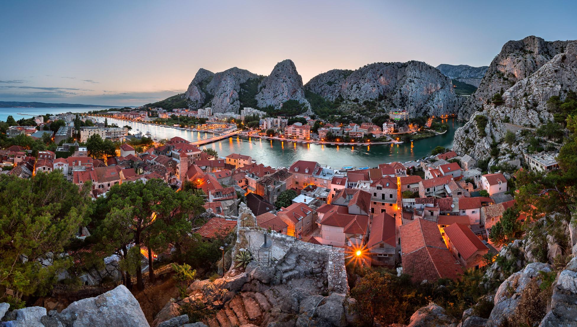 Omis, Croatia Destinations Pinterest