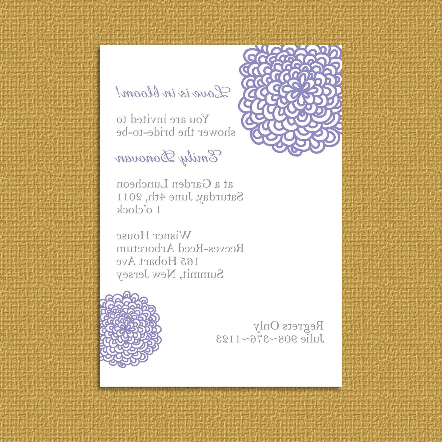 Delisha S Blog Storybook Wedding Invitation
