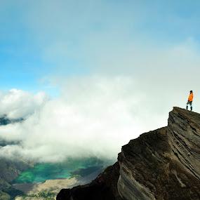 rinjani by Syahbuddin Nurdiyana - Landscapes Mountains & Hills