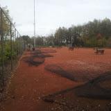 Renovatie tennisbanen
